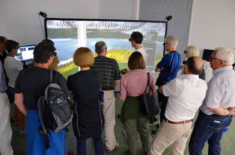 Herrenberg mobile 3D VR mit Leinwand 02
